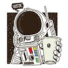 Houston... We have a Coffee!  by kdigraphics