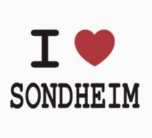 I <3 Sondheim Baby Tee