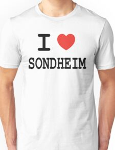 I <3 Sondheim Unisex T-Shirt