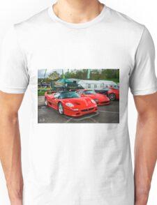 Ferrari F50 & F40 Unisex T-Shirt
