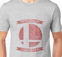 SUPER SMASH BROS. - Distressed Design Unisex T-Shirt