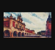 Cracow Main Square Old Town Kids Tee