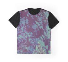 Blue Pixel Graphic T-Shirt