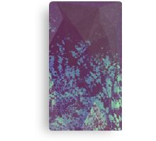 Blue Pixel Canvas Print