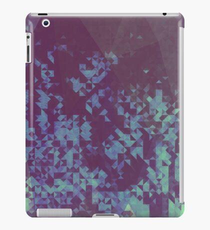 Blue Pixel iPad Case/Skin