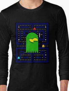 Retro Pac Man Gaming Monster Long Sleeve T-Shirt