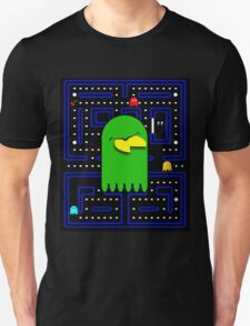 Retro Pac Man Gaming Monster Unisex T-Shirt