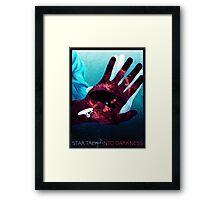 Star Trek Into Darkness Movie Poster Framed Print