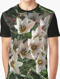 A Bunch of Miniature Tulips Celebrating the Spring Season Graphic T-Shirt