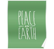 Peace on Earth (Green) Poster