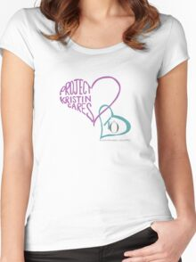 Project Kristin Cares Women's Fitted Scoop T-Shirt