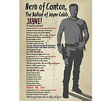 The Ballad of Jayne Cobb Photographic Print