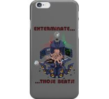 DJ Dalek  iPhone Case/Skin