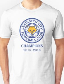Leicester City Football Club Champions 2016 T-Shirt