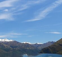 Wanaka Blue ( 20 ) by Larry Lingard-Davis