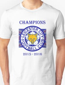 Leicester City England Champions 2016 T-Shirt