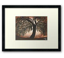 Mystic Willow Framed Print