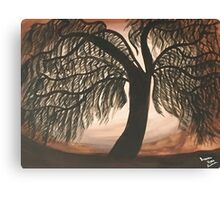 Mystic Willow Canvas Print