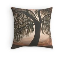 Mystic Willow Throw Pillow