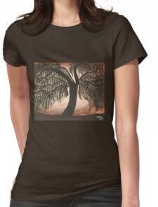 Mystic Willow Womens Fitted T-Shirt