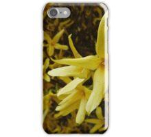 Forsythia Hedge iPhone Case/Skin