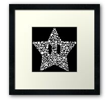 Super Smash Star Framed Print