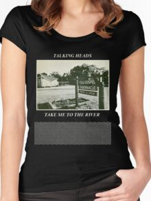 Talking Heads - Take Me to the River Women's Fitted Scoop T-Shirt