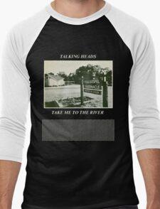 Talking Heads - Take Me to the River Men's Baseball ¾ T-Shirt
