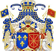Pre-Revolution French Coat of Arms by PattyG4Life