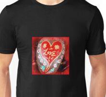 love hand-painted rock Unisex T-Shirt