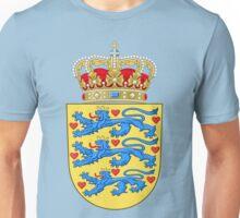 Coat of arms of Denmark Unisex T-Shirt