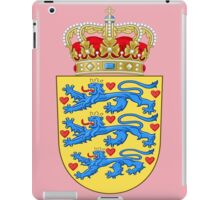 Coat of arms of Denmark iPad Case/Skin