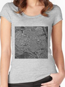 Intricate Flower Women's Fitted Scoop T-Shirt