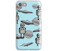 Space Age cell   iPhone Case/Skin