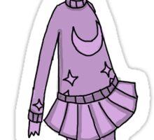 Little Purple Girl Sticker