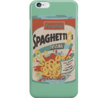 Warholesque Spaghetti-Os Premier iPhone Case/Skin