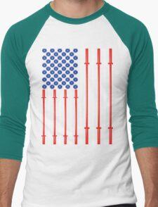 American Muscle Men's Baseball ¾ T-Shirt