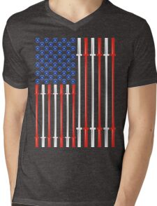 American Muscle Mens V-Neck T-Shirt