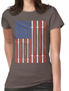 American Muscle Womens Fitted T-Shirt