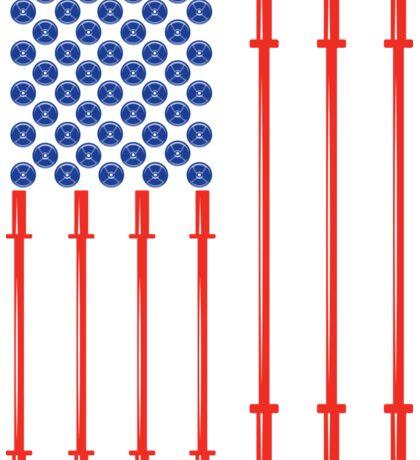 American Muscle Sticker