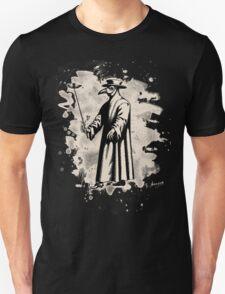 Doc beak - Plague doctor - bleached white T-Shirt