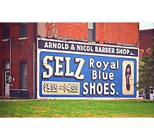 Route 66 - Chenoa, Illinois Mural Photographic Print