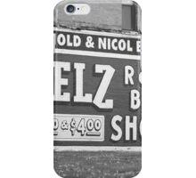 Route 66 - Chenoa, Illinois Mural iPhone Case/Skin
