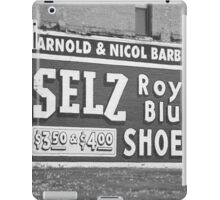 Route 66 - Chenoa, Illinois Mural iPad Case/Skin