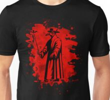 Doc beak - Plague doctor - bleached red Unisex T-Shirt