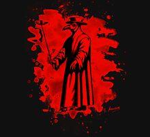 Doc beak - Plague doctor - bleached red Unisex T-Shirt