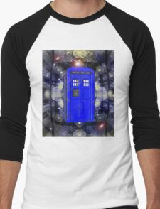 TARDIS CLASSIC LONDON POLICE BOX 1 Men's Baseball ¾ T-Shirt
