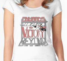 Onwards and Sideways! Women's Fitted Scoop T-Shirt