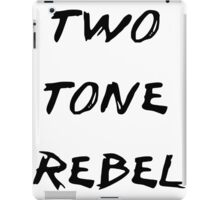 Two Tone Rebel iPad Case/Skin
