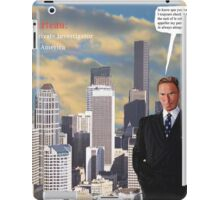Jacques Marteau: French Private Eye in America iPad Case/Skin